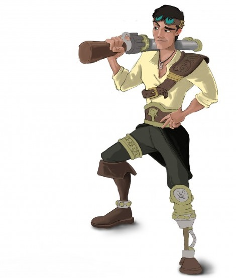 Gods-Among-Pirates-ilustracion-hombre-miscelanea-startvideojuegos